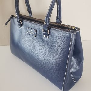 Kate Spade French Navy Blue Shoulder Bag